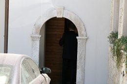 ingresso della casa di Del Turco, quello che fu ffotografato da Angelini
