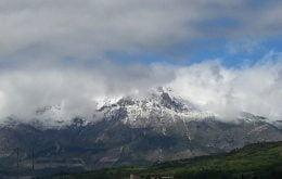 Il monte velino alla fine di maggio