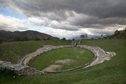 Anfiteatro di Alba Fucens - foto di Vittorio Palma