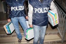 sequestro fascicoli polizia documenti
