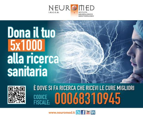 Neuromed 5 per mille mobile home