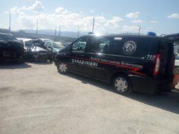 Giallo San Benedetto - carabinieri - ris